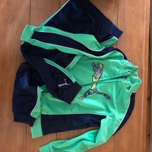 Puma Track Suit Youth Boys Size 7 LIKE NEW!!!!